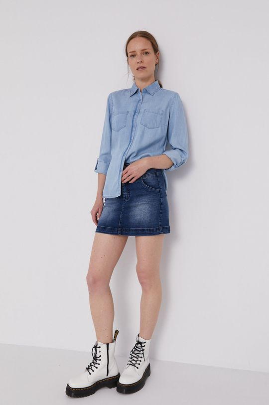 Lee Cooper - Spódnica jeansowa granatowy