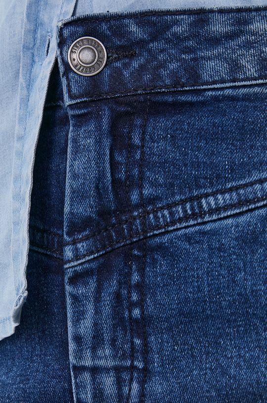 granatowy Lee Cooper - Spódnica jeansowa