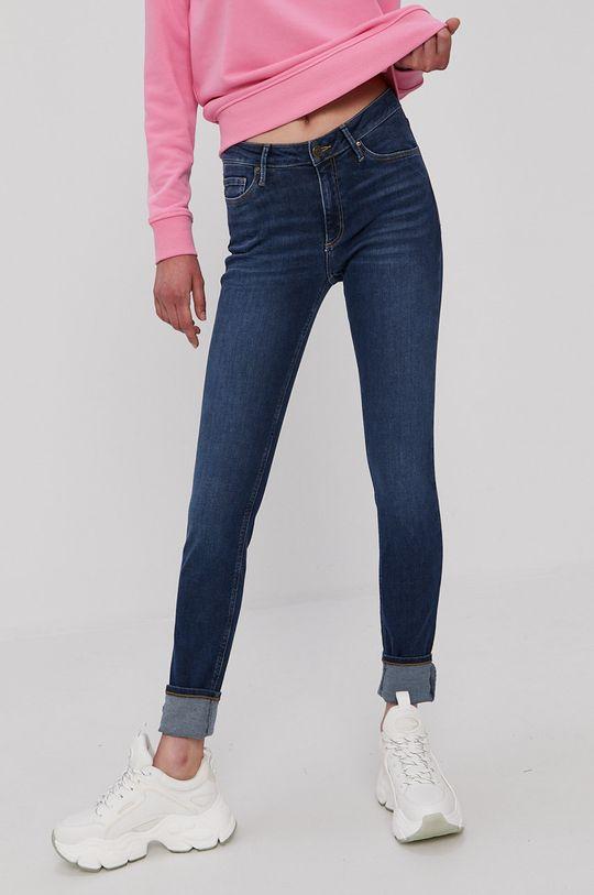 niebieski Cross Jeans - Jeansy Alan Damski