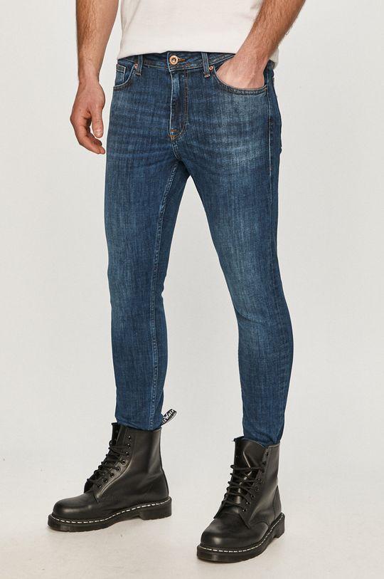 modrá Cross Jeans - Džíny Scott Pánský