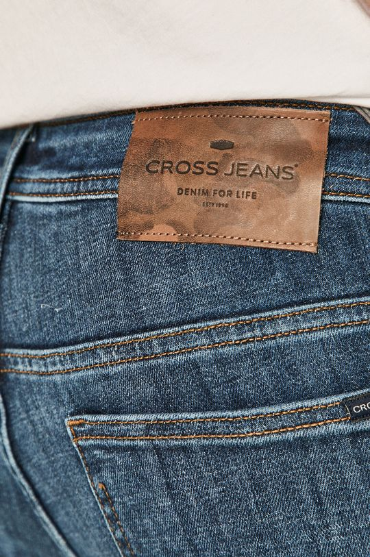 modrá Cross Jeans - Džíny Scott