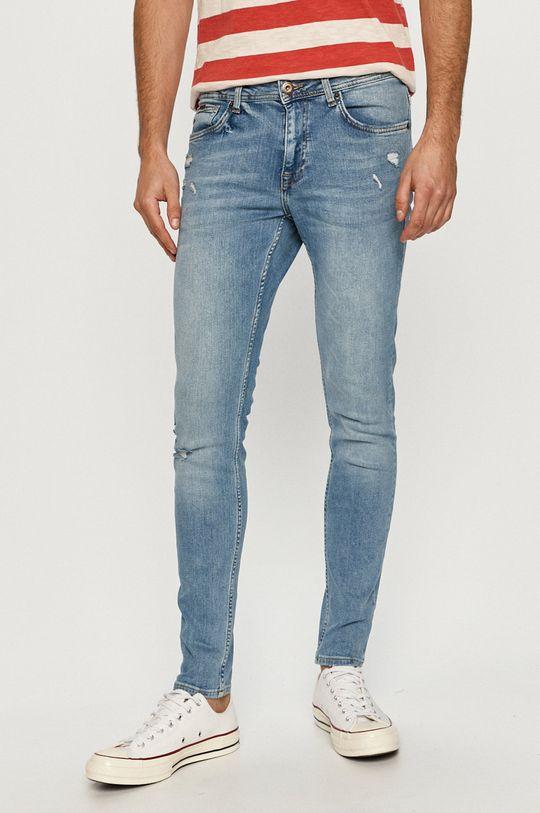 albastru Cross Jeans - Jeansi Scott De bărbați
