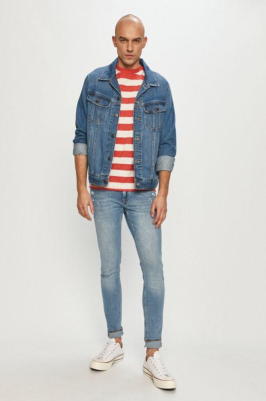 Cross Jeans - Jeansi Scott albastru