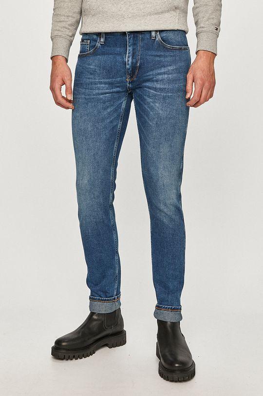 niebieski Cross Jeans - Jeansy Blake Męski
