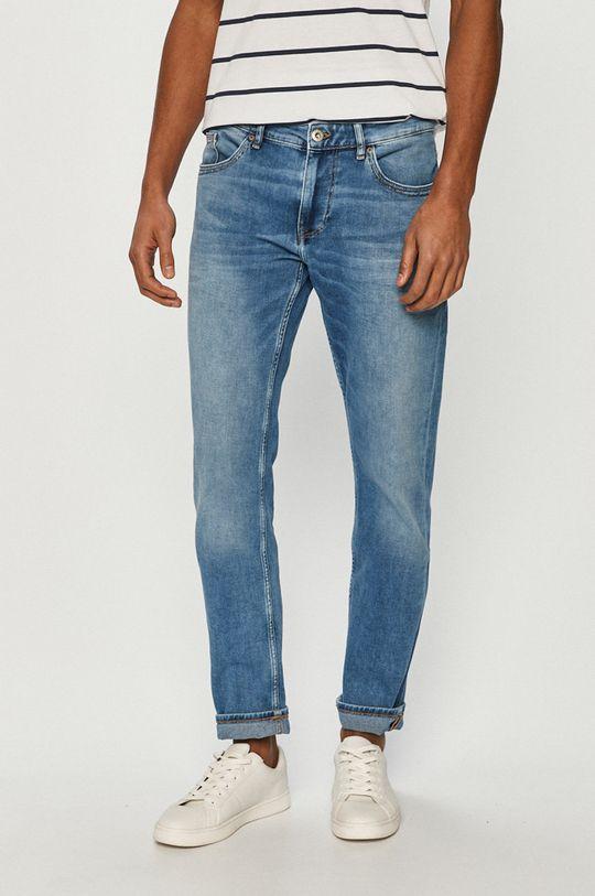 niebieski Cross Jeans - Jeansy Męski