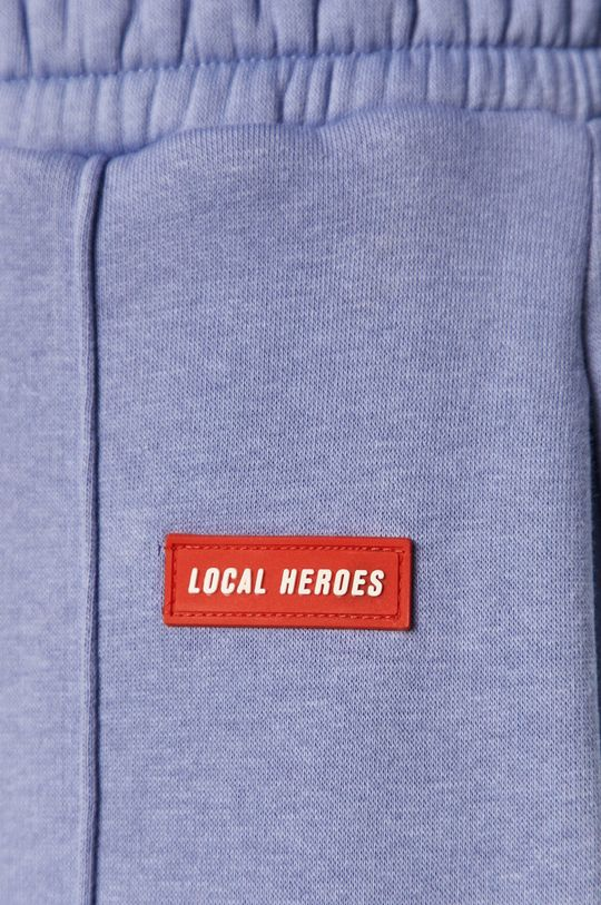 fioletowy Local Heroes - Spodnie