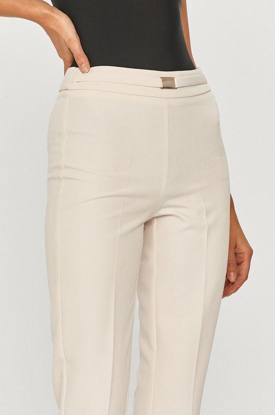 pastelově růžová Silvian Heach - Kalhoty