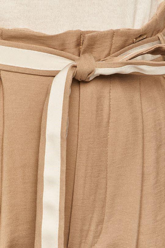 piaskowy Silvian Heach - Spodnie