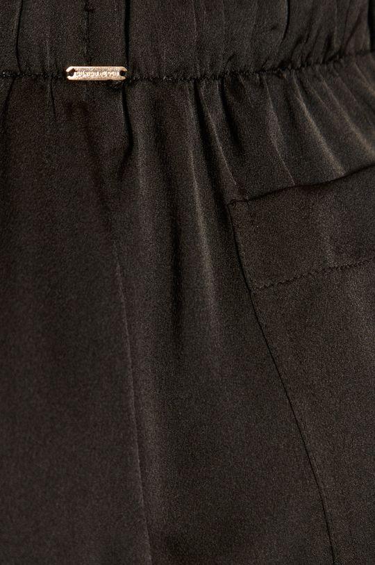 czarny Silvian Heach - Spodnie