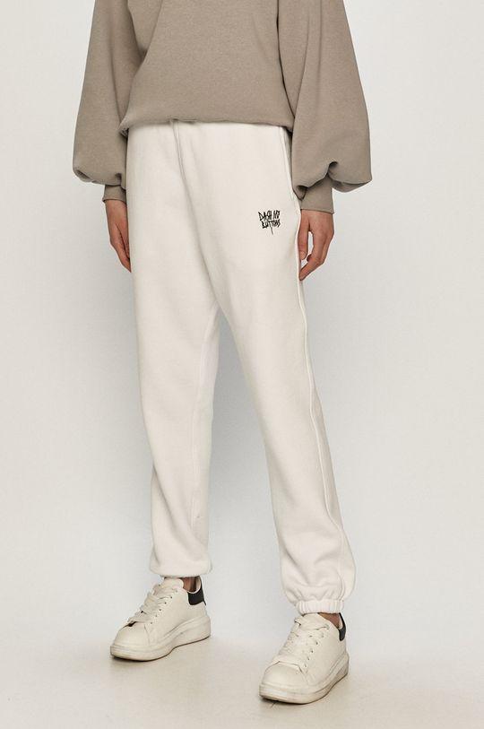 biały Dash My Buttons - Spodnie Hard Candy Damski