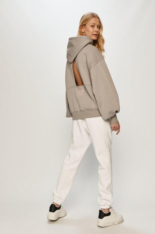 Dash My Buttons - Spodnie Hard Candy biały
