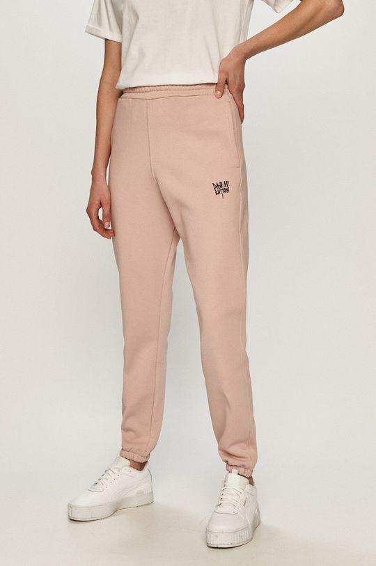różowy Dash My Buttons - Spodnie Hard Candy Damski