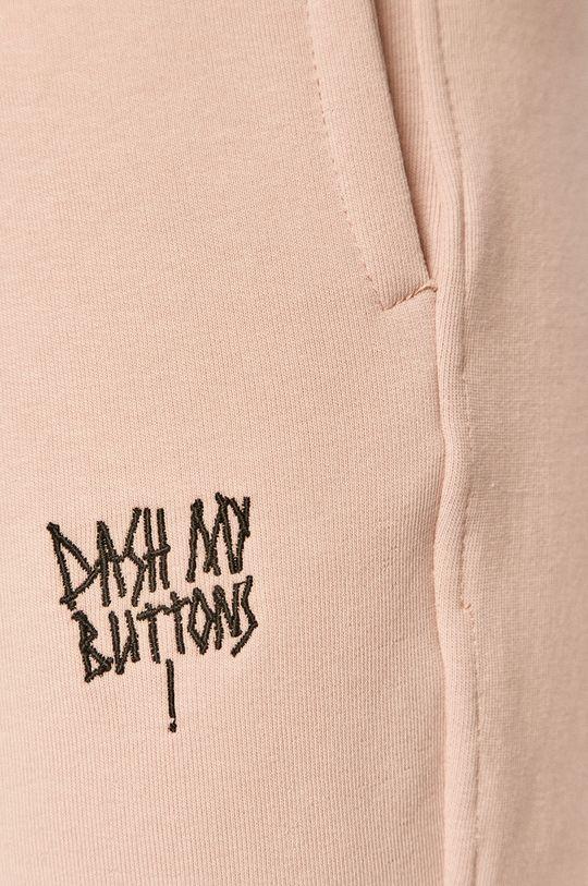 różowy Dash My Buttons - Spodnie Hard Candy
