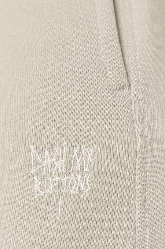 szary Dash My Buttons - Spodnie Hard Candy