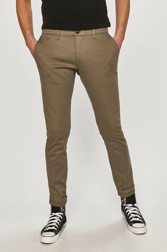 šedá Cross Jeans - Kalhoty Pánský