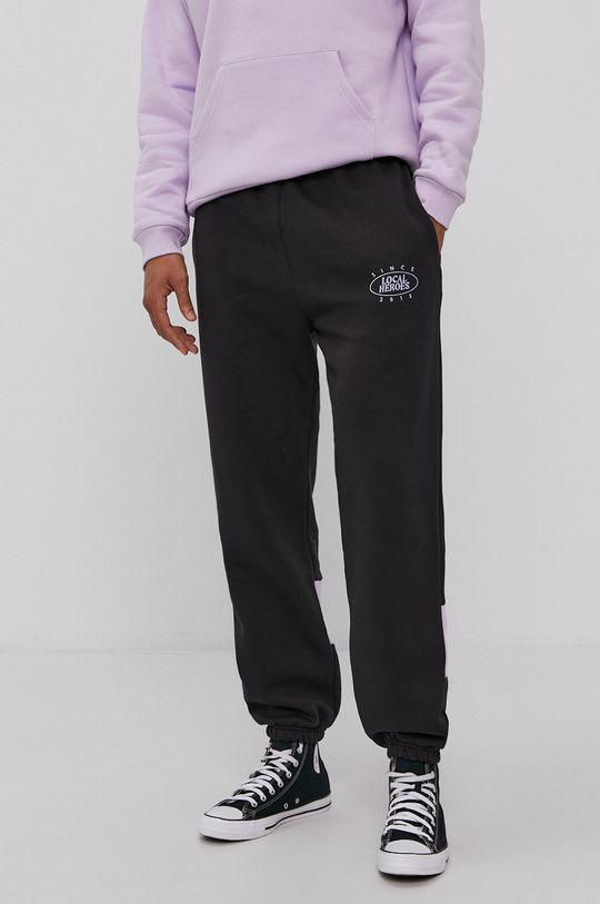 Local Heroes - Spodnie z kolekcji limitowanej czarny