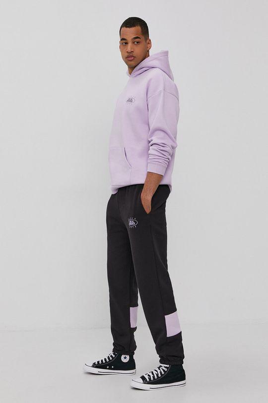 czarny Local Heroes - Spodnie z kolekcji limitowanej