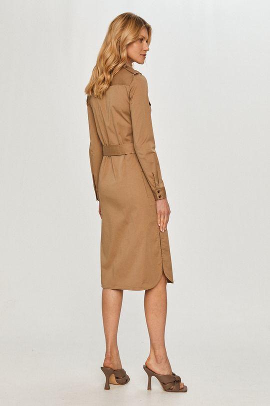 Silvian Heach - Sukienka 63 % Bawełna, 3 % Elastan, 34 % Nylon