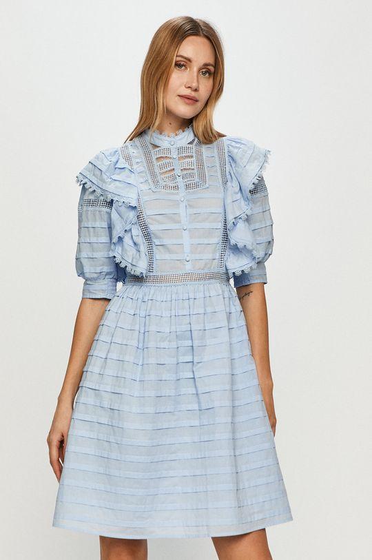 niebieski Silvian Heach - Sukienka Damski