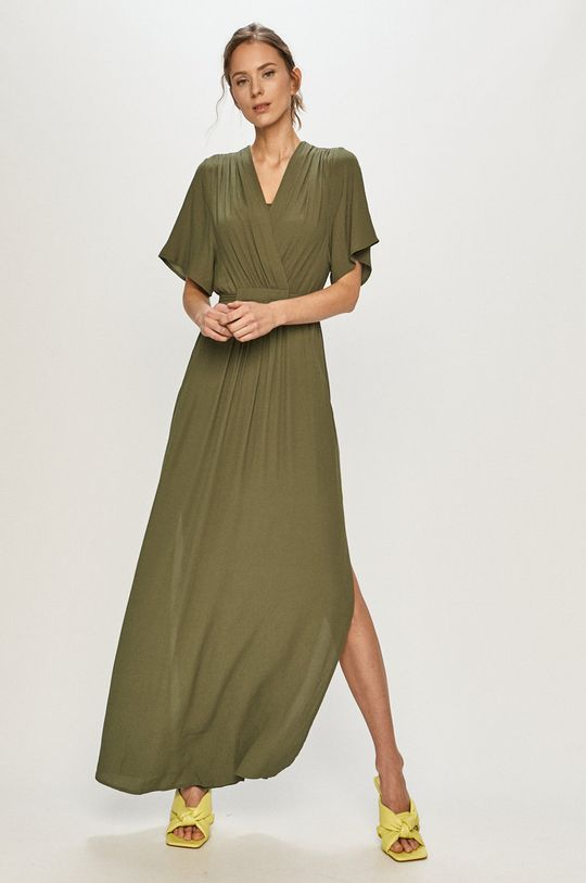ciemny zielony Silvian Heach - Sukienka Damski