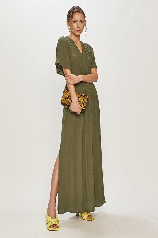 Silvian Heach - Sukienka ciemny zielony