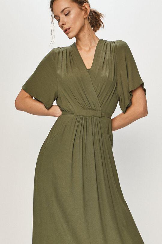 ciemny zielony Silvian Heach - Sukienka