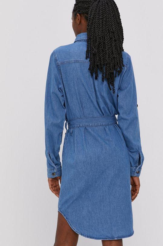 Cross Jeans - Sukienka jeansowa 100 % Bawełna