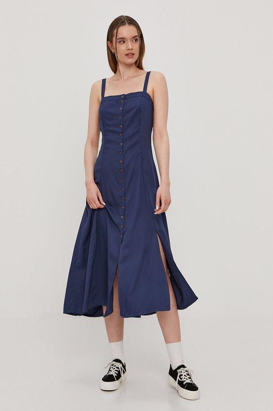 niebieski RVCA - Sukienka Damski