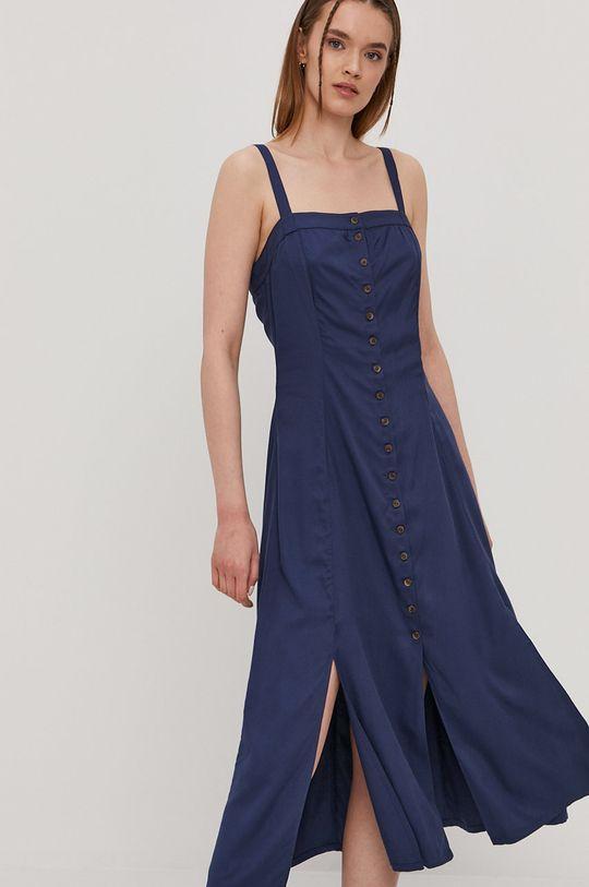 RVCA - Sukienka niebieski