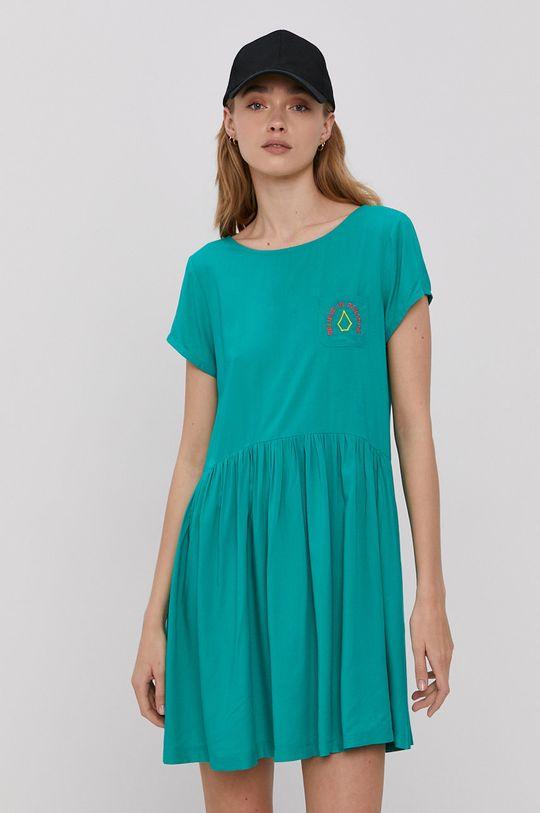 Volcom - Sukienka zielony