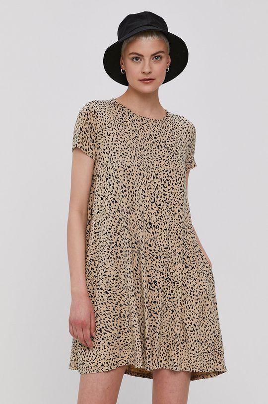 beżowy Volcom - Sukienka