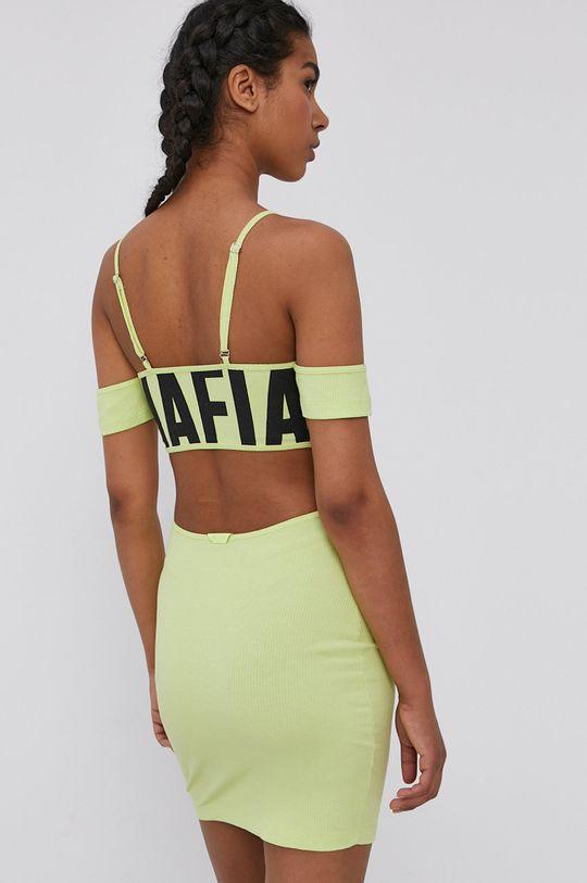 żółto - zielony LaBellaMafia - Sukienka
