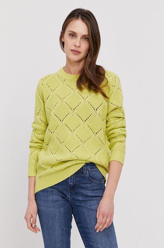 żółto - zielony Lee Cooper - Sweter