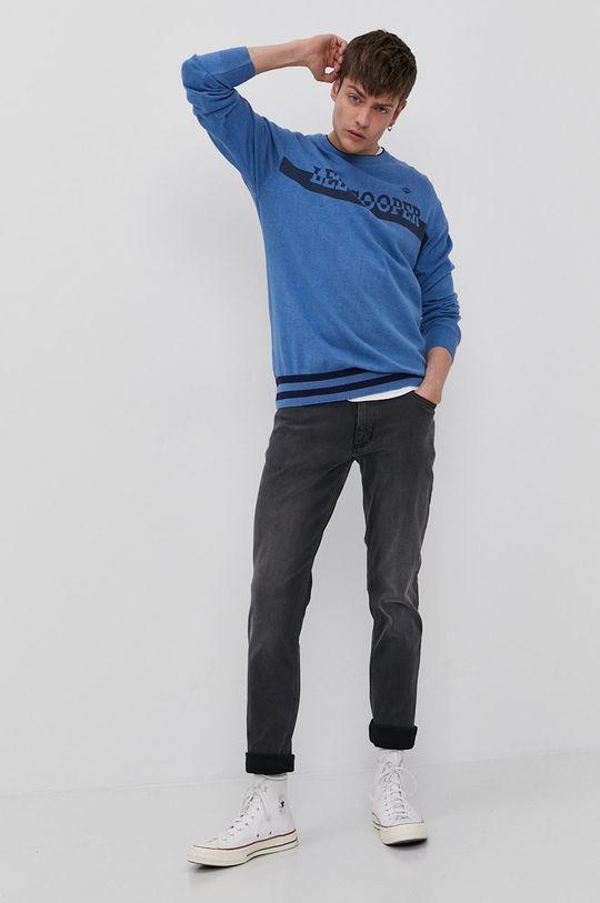 Lee Cooper - Sweter niebieski