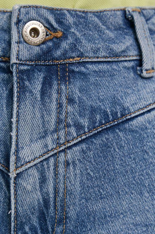 Cross Jeans - Rifľové krátke nohavice Dámsky