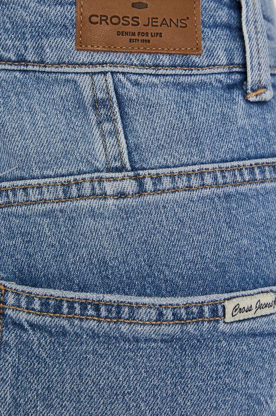 Cross Jeans - Rifľové krátke nohavice