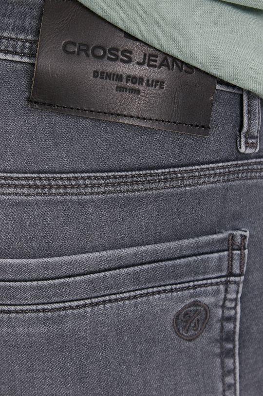 šedá Cross Jeans - Kraťasy