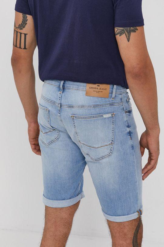Cross Jeans - Rifľové krátke nohavice  98% Bavlna, 2% Elastan