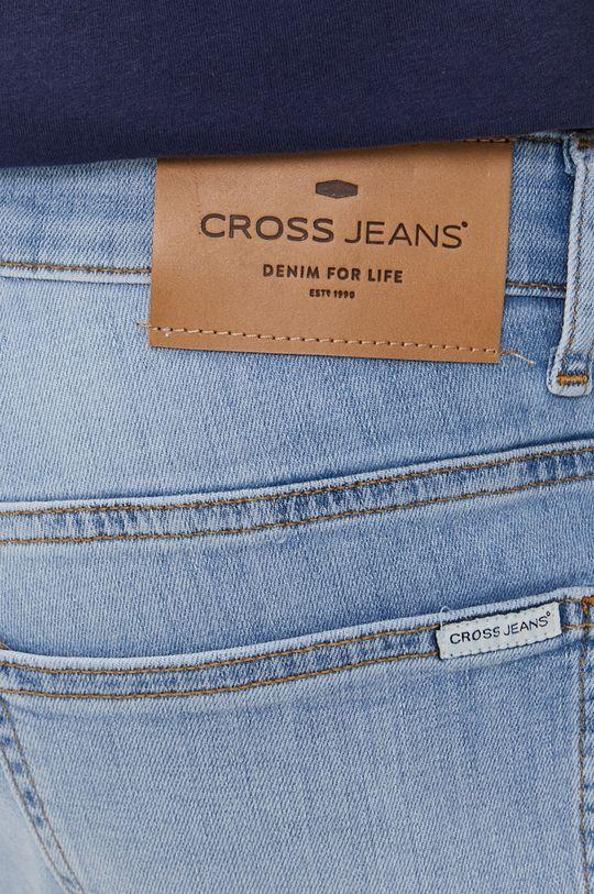 modrá Cross Jeans - Rifľové krátke nohavice