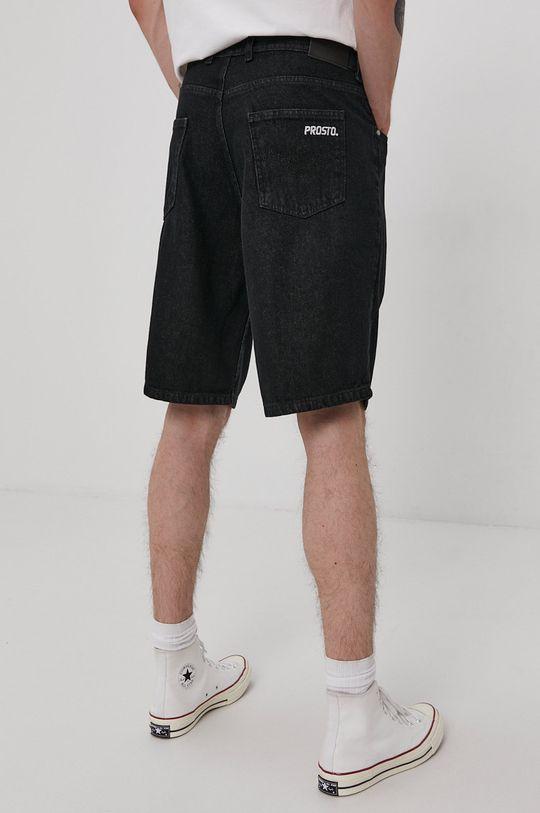 Prosto - Rifľové krátke nohavice  98% Bavlna, 2% Elastan