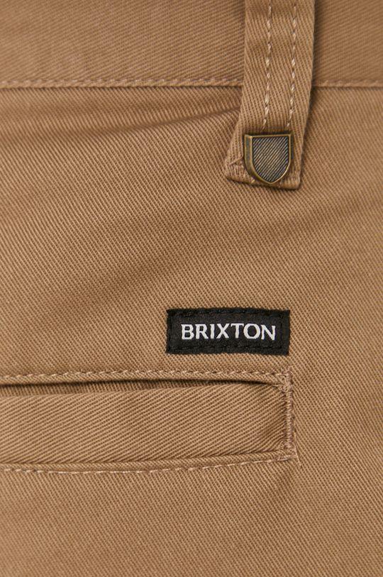 hnědá Brixton - Kraťasy