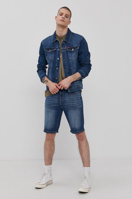 Lee Cooper - Szorty jeansowe granatowy