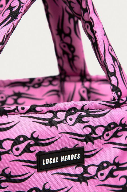 Local Heroes - Torebka ostry różowy