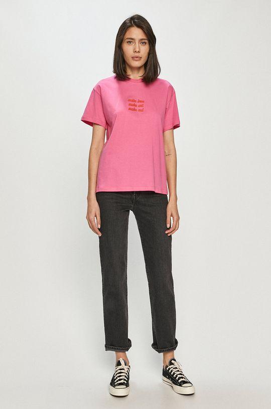 Local Heroes - T-shirt ostry różowy