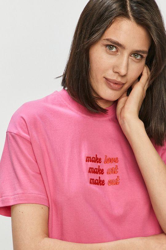 ostry różowy Local Heroes - T-shirt