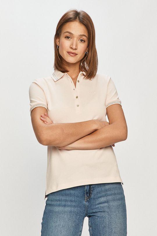 pastelowy różowy Geox - T-shirt Damski