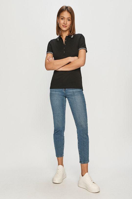 Geox - Tricou negru