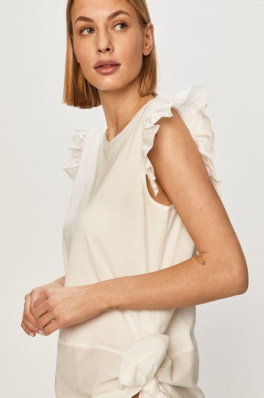 biały Silvian Heach - T-shirt Damski
