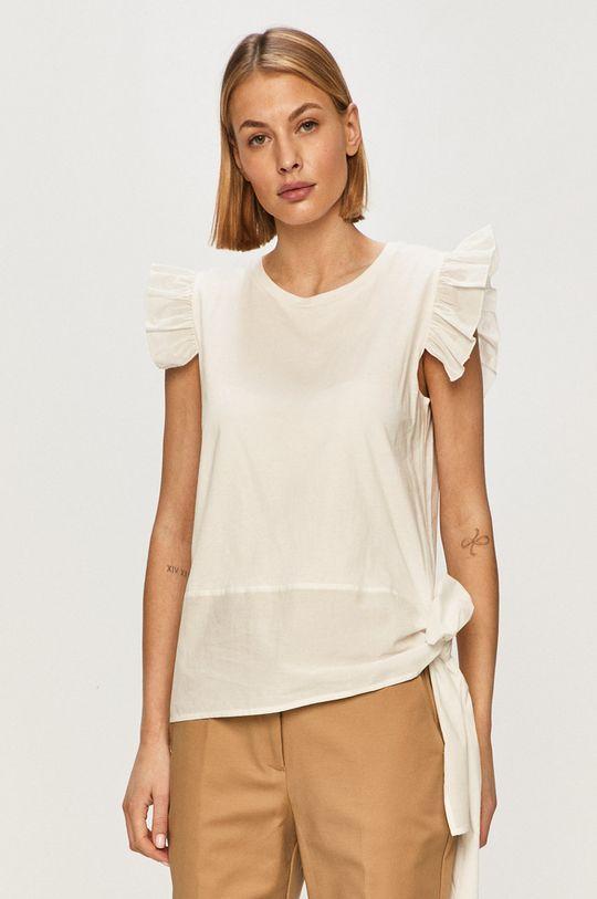 biały Silvian Heach - T-shirt