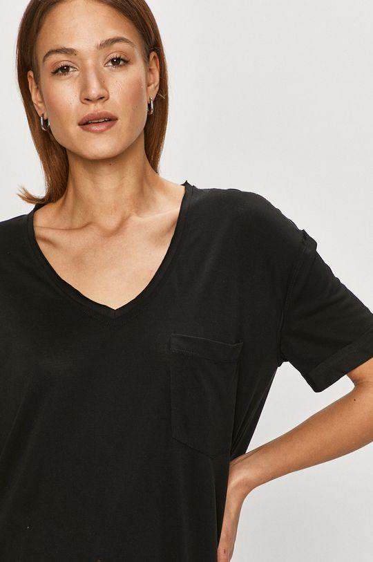 czarny Silvian Heach - T-shirt